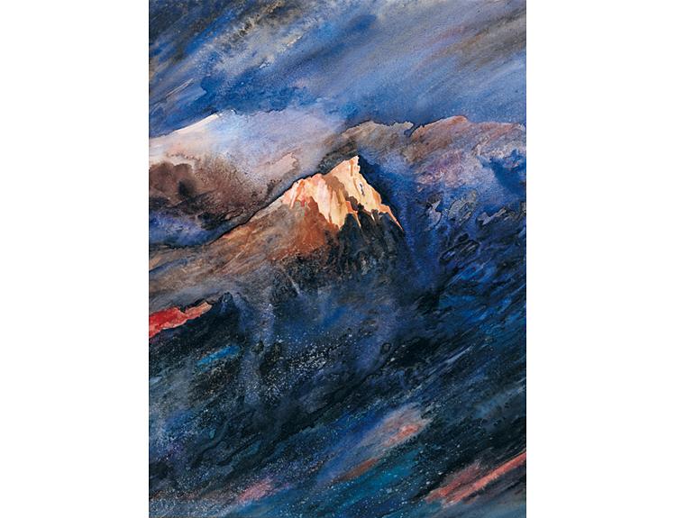 Last Light on Mount Sinai (Sold)