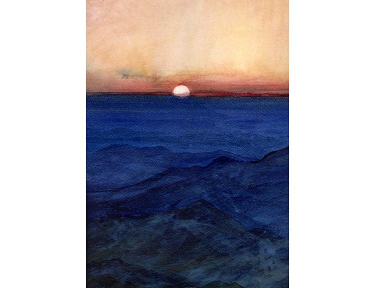 Sunset over Sinai (Sold)