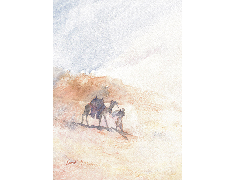 Camel Rider, Sinai (Sold)