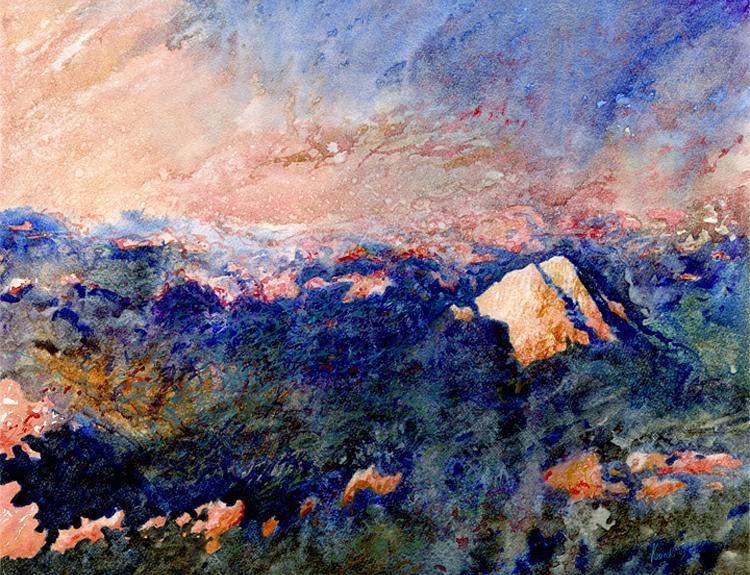 Last Light over Sinai (Sold)