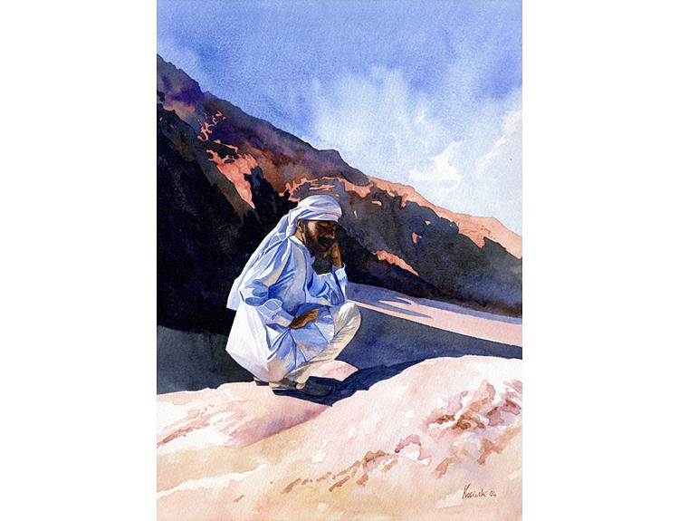 Bedouin Guide (Sold)
