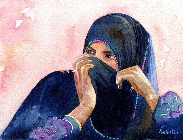 Bedouin Girl (Sold)