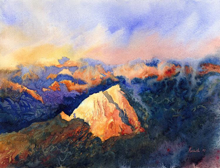 Last Light, Sinai (Sold)