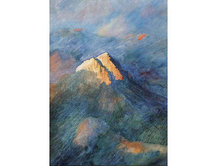 Last Night over Mount Sinai (Sold)