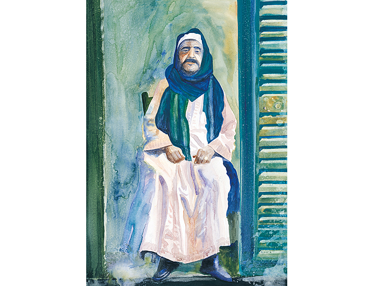 Aswan Shopkeeper (Sold)