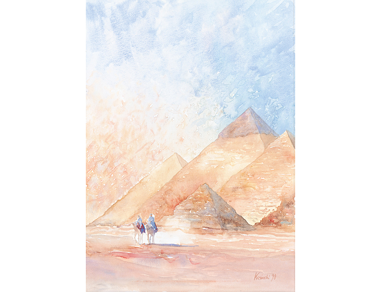 Pyramids of Giza (Sold)