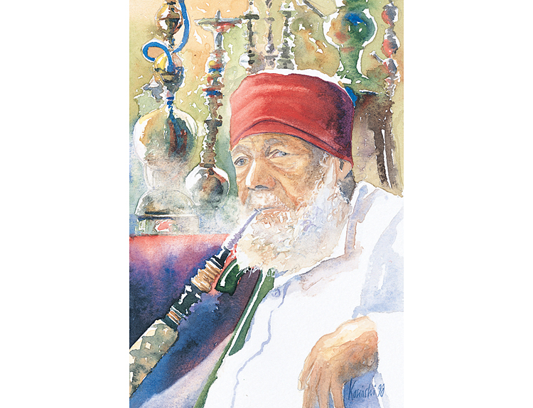 Smoker, Khan Khalili, Cairo (Sold)