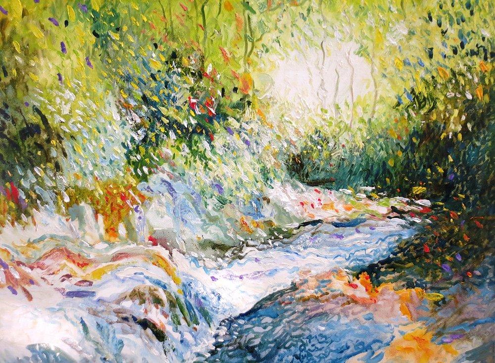 Shimmering Wilson Creek, Grayson Highlands, VA