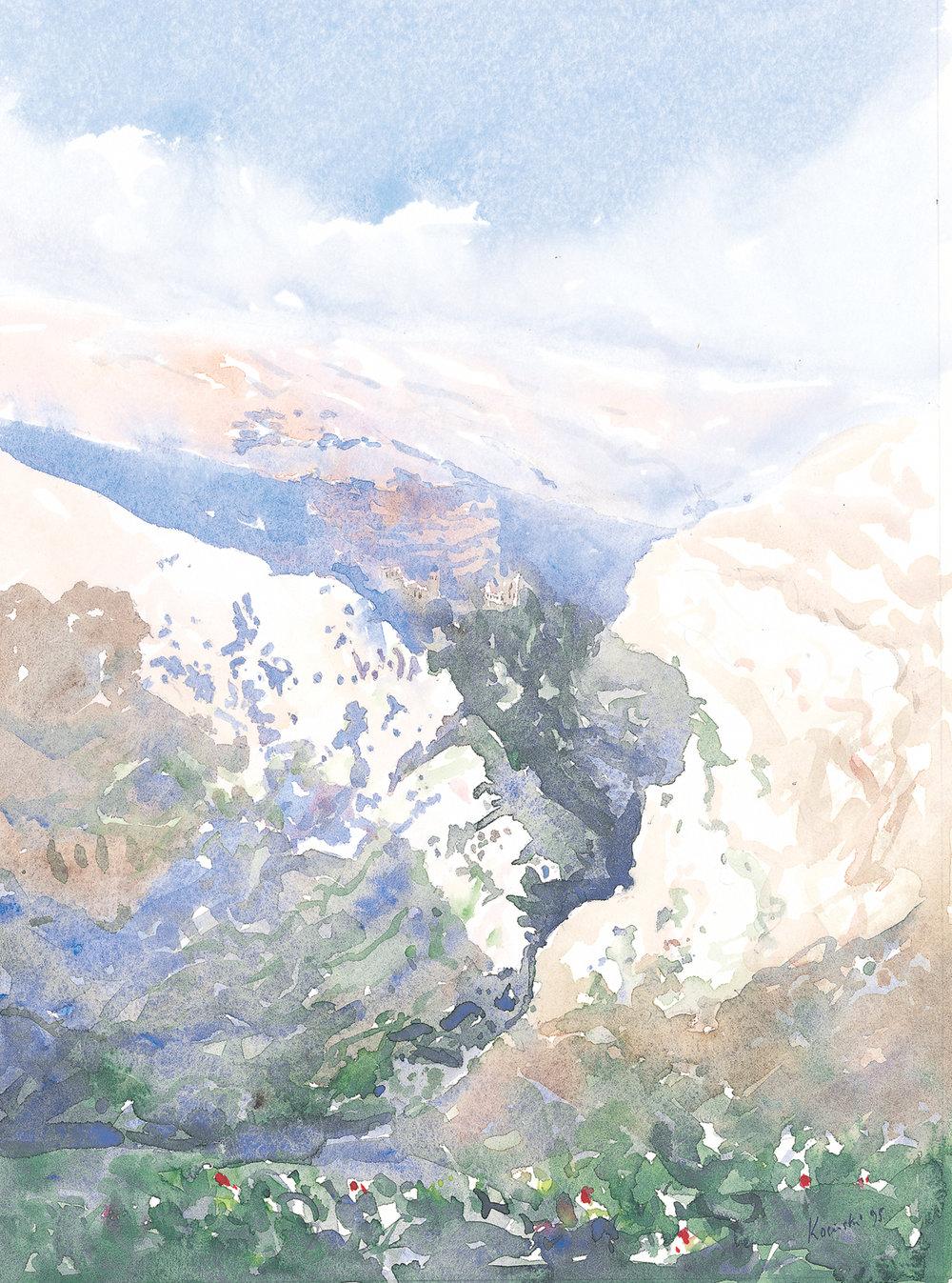Spring in Wadi Kelt