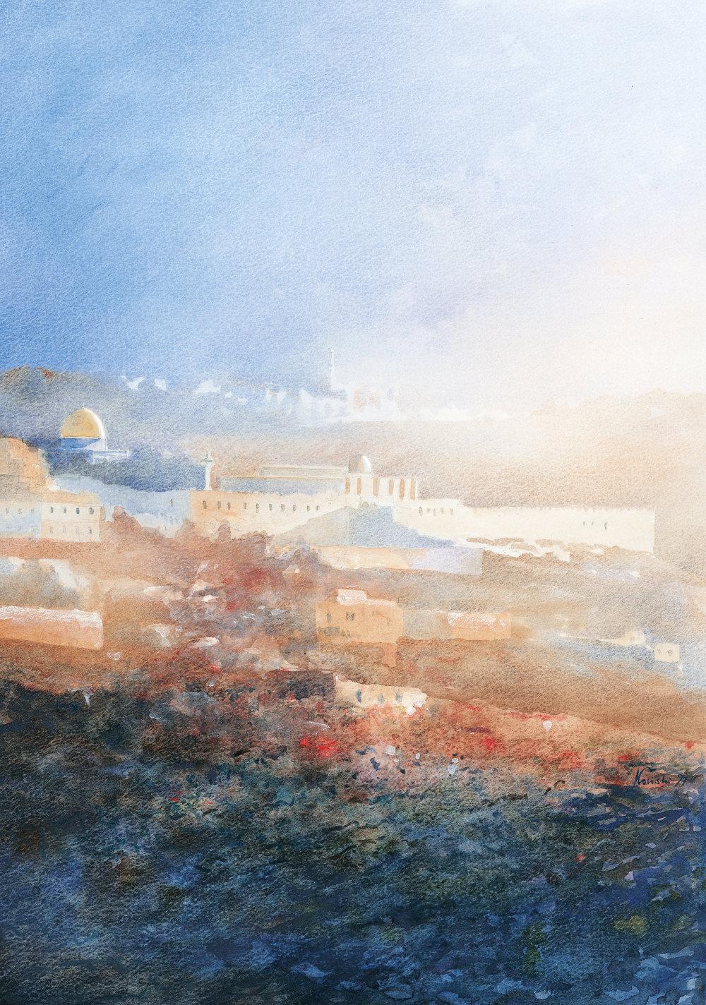 Jerusalem Mists