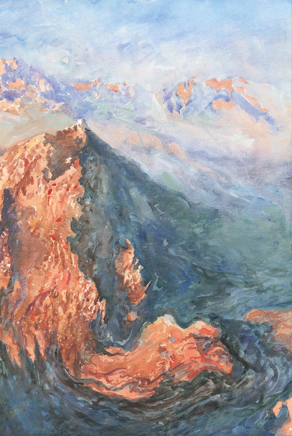 Jebel Katerina. Sinai