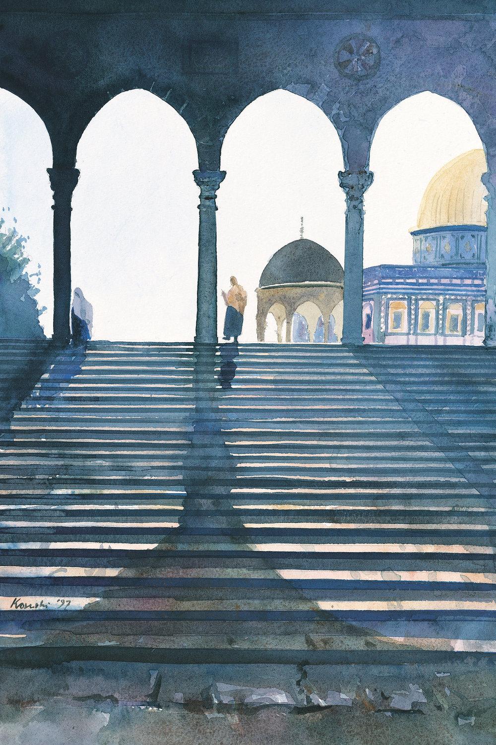 Arches, Haram al Sharif