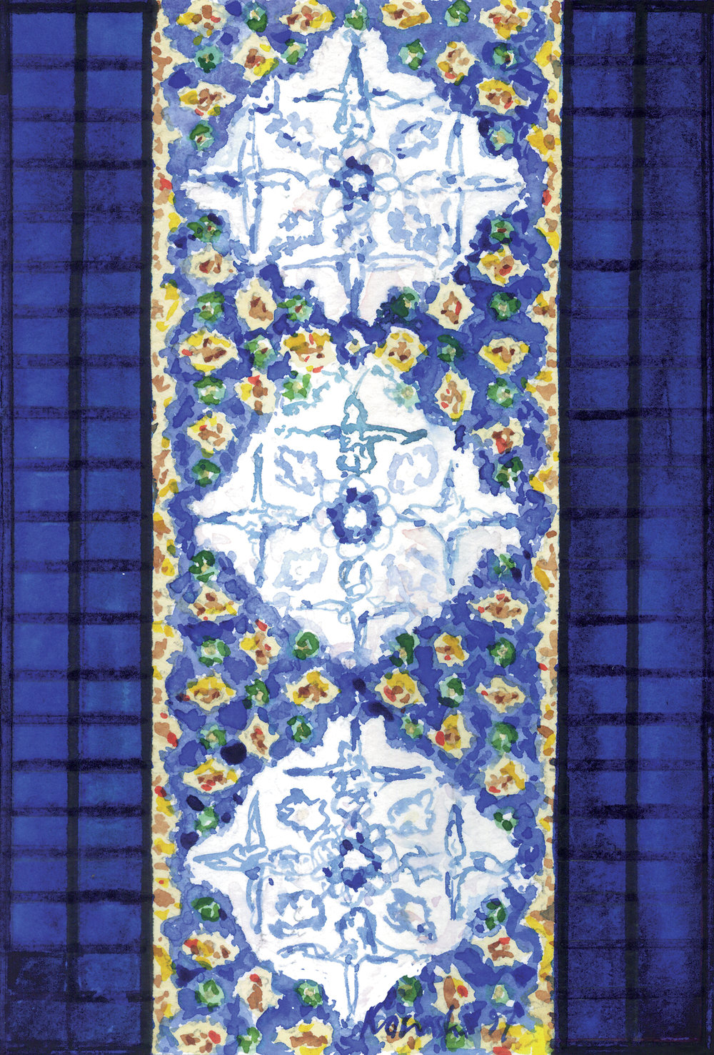 Tiles from Dome of the Rock