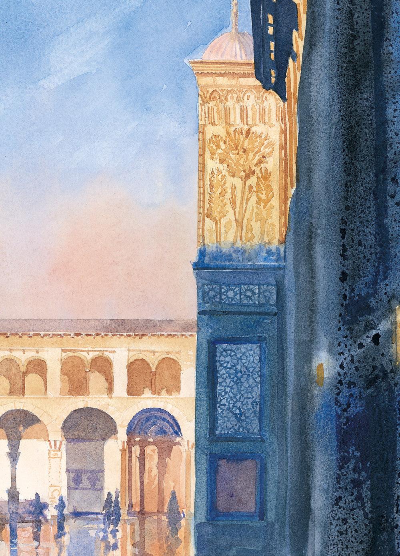 Ommayad Courtyard, Damascus