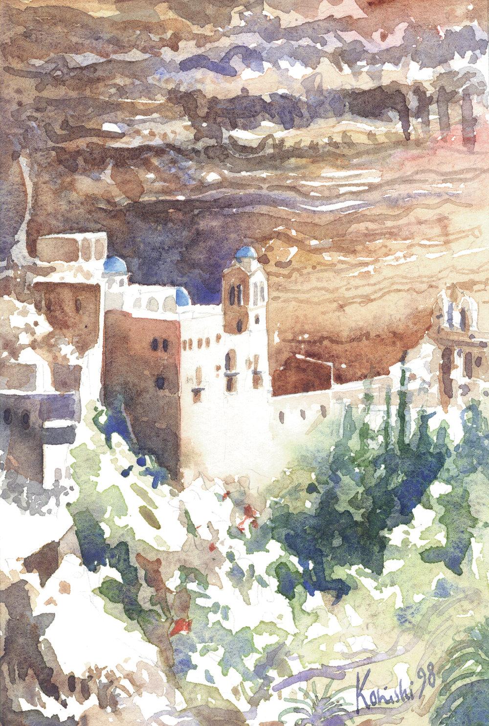St. George's Monastery, Wadi Kelt