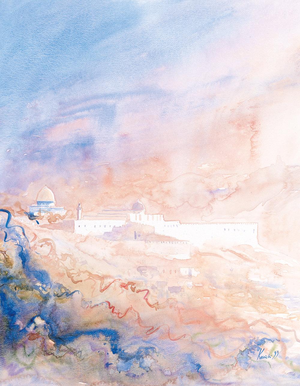 Jerusalem Aglow