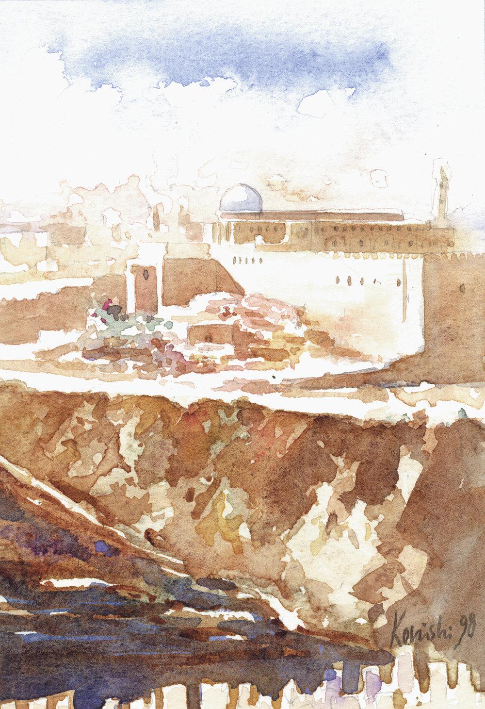 Jerusalem from the Jericho Road
