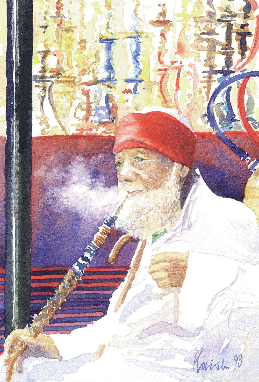 Smoker, Khan Khalilee, Cairo