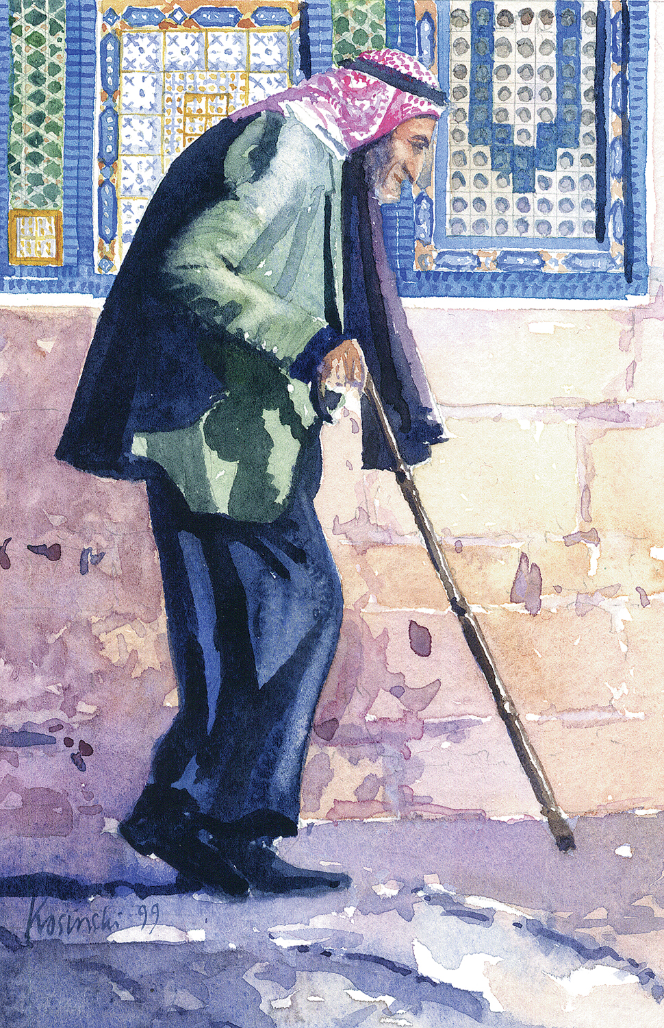 Old Man, Haram, Jerusalem