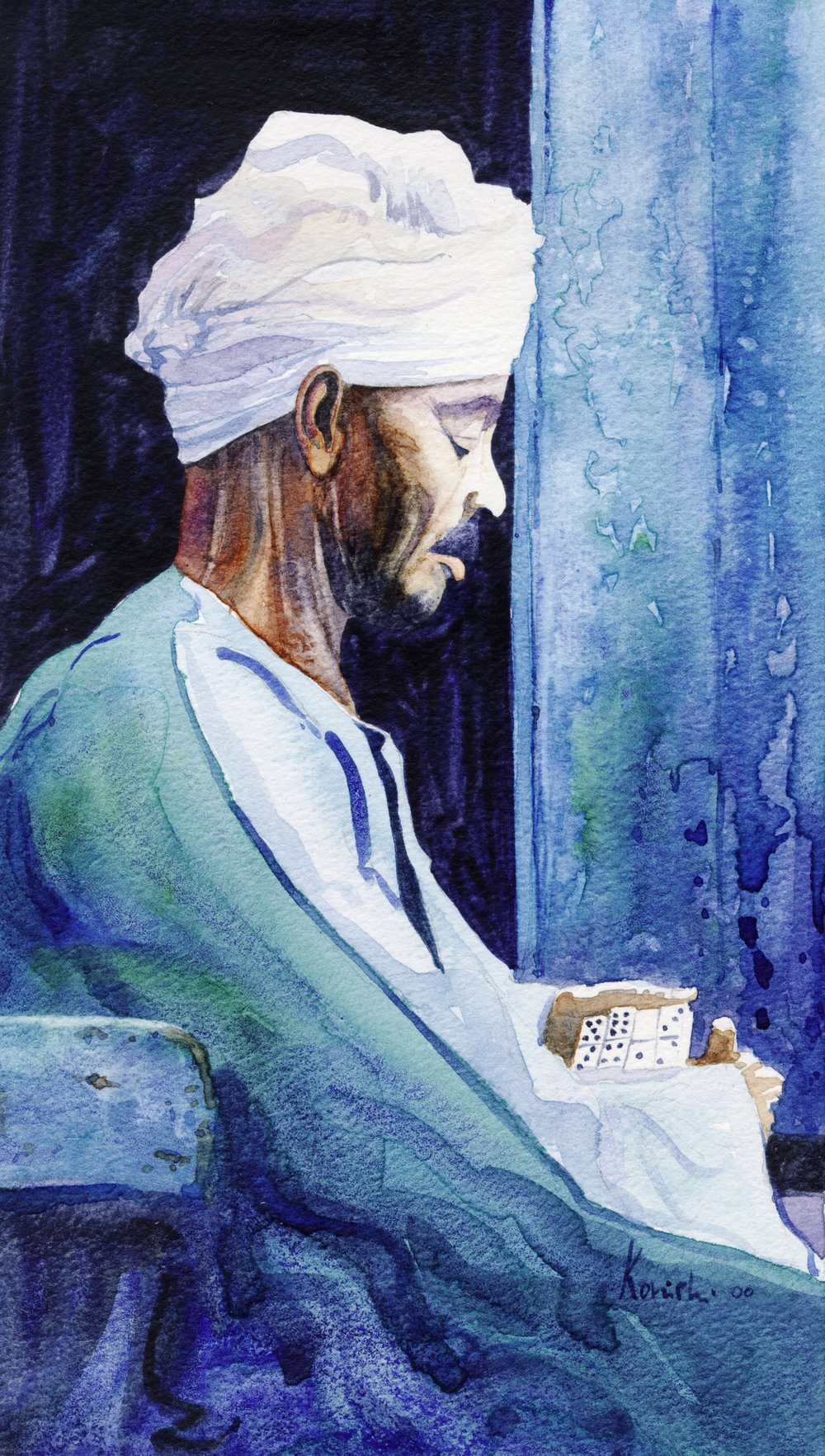 Domino Player, Aswan