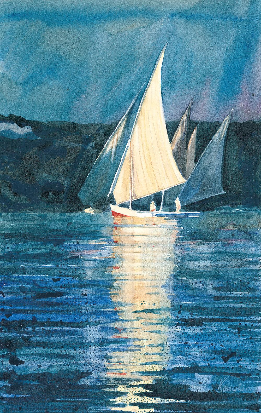 Feluccha on the Nile