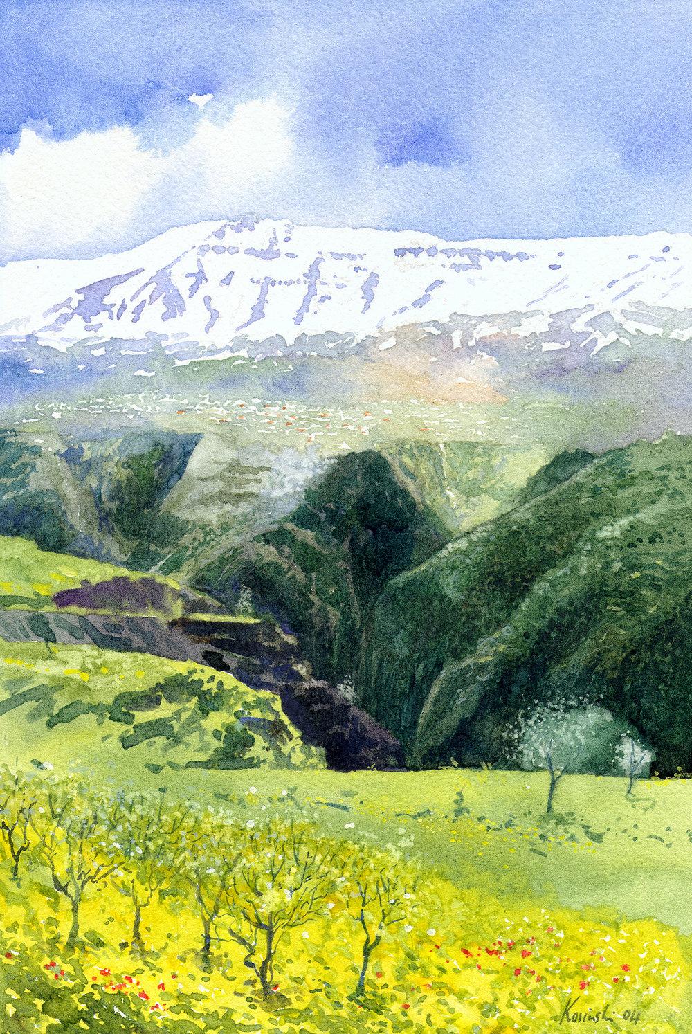 Faqra, Qadisha Valley, Lebanon