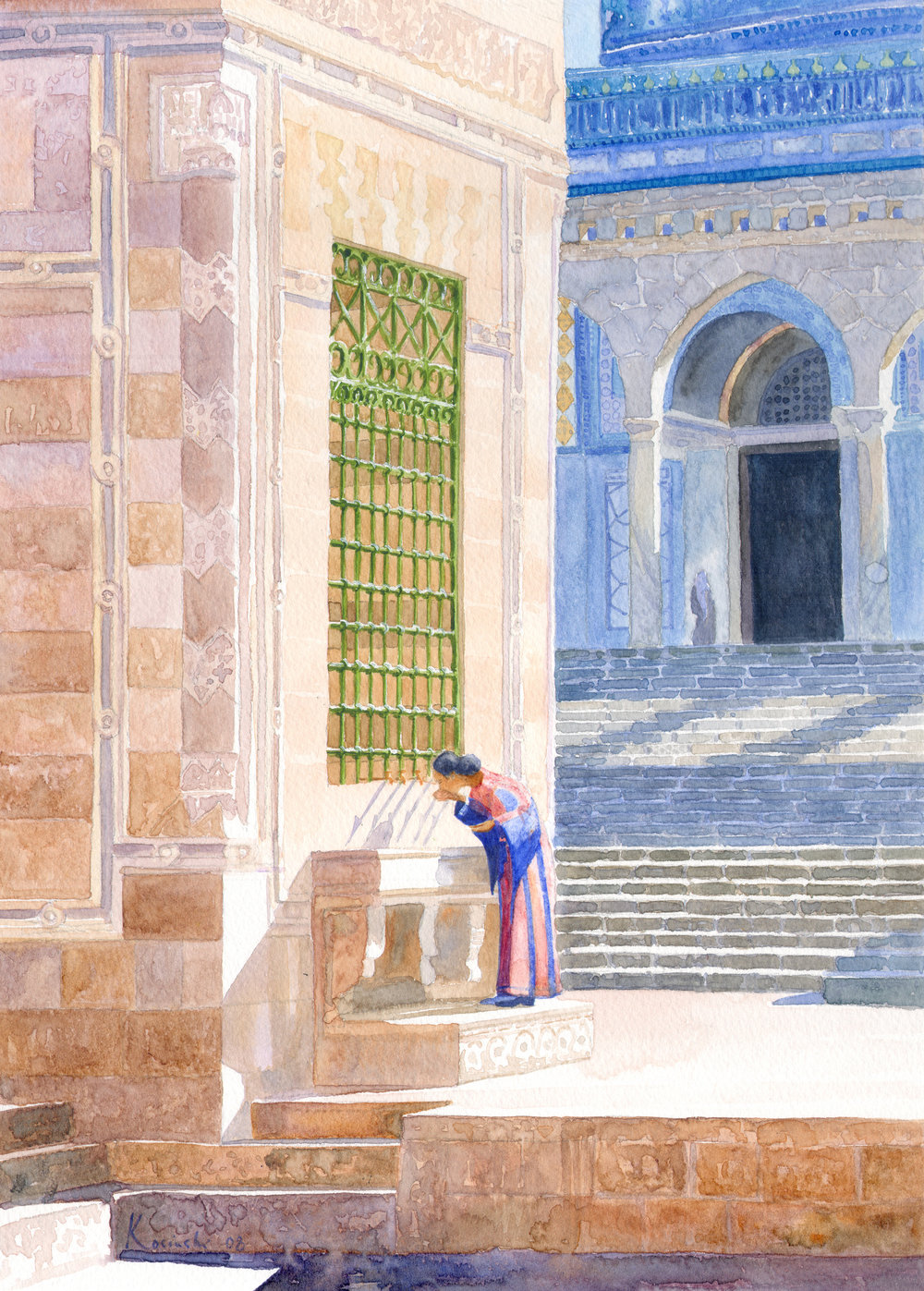Woman at the Fountain, Jerusalem