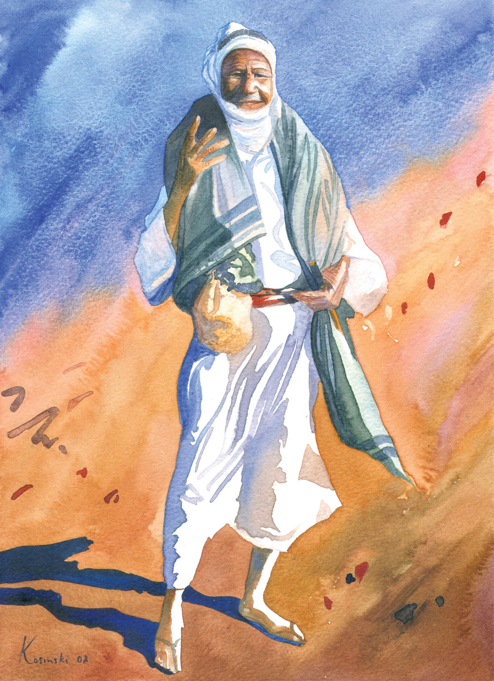 Bedouin Traveler, Sinai