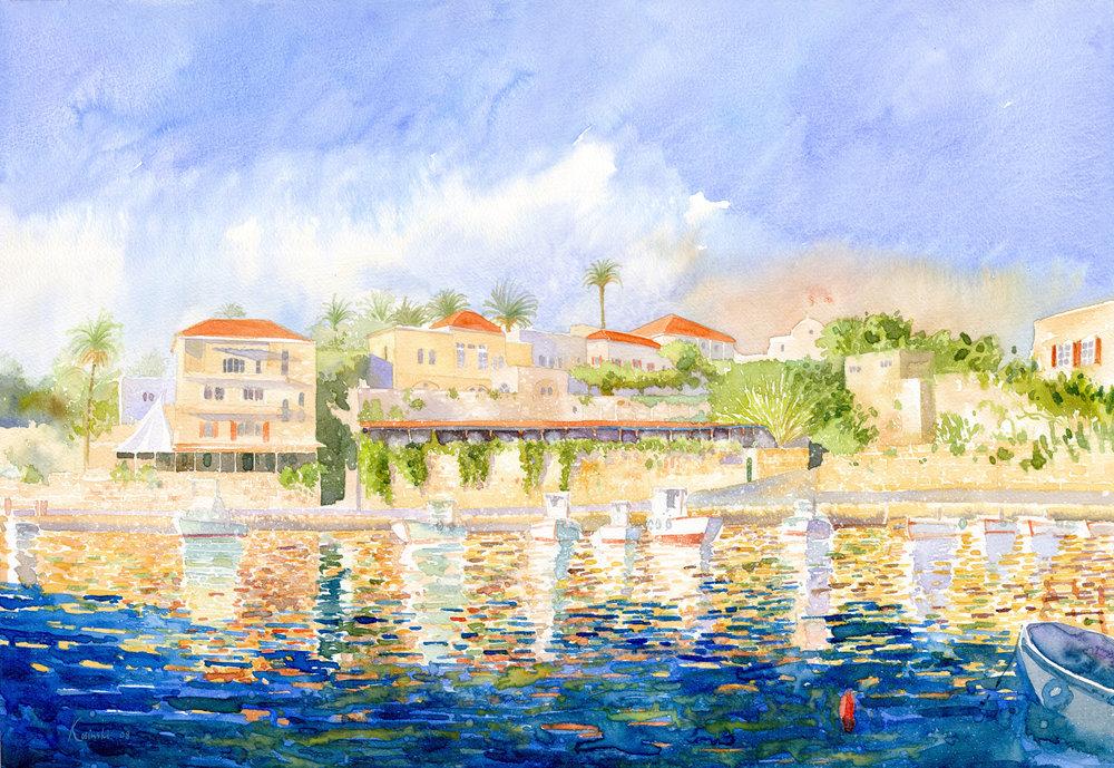Byblos Port, Lebanon