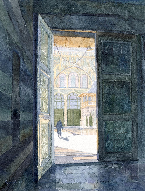 Gate to Ommayad Courtyard, Damascus
