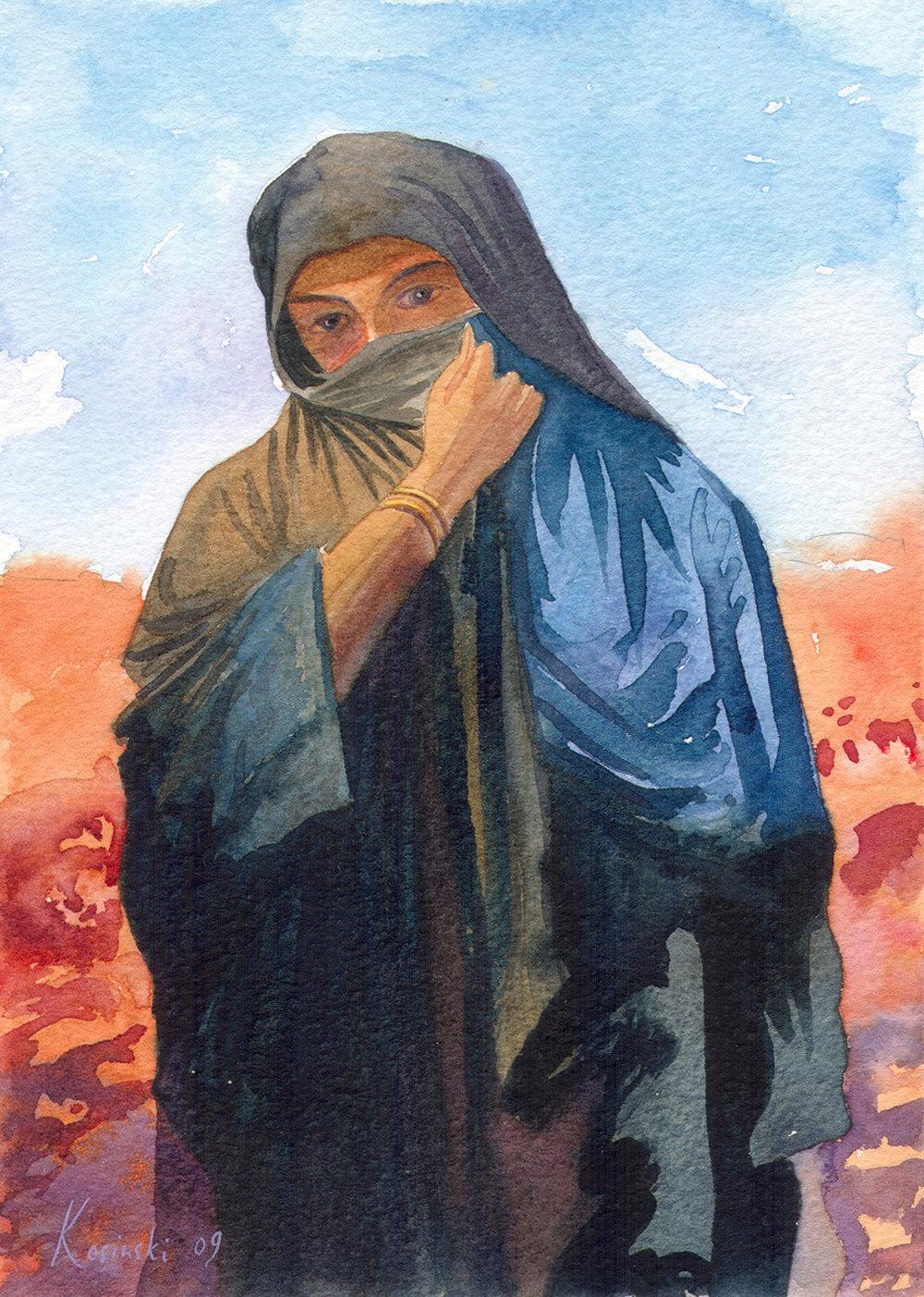 Bedouin Lady, Sinai