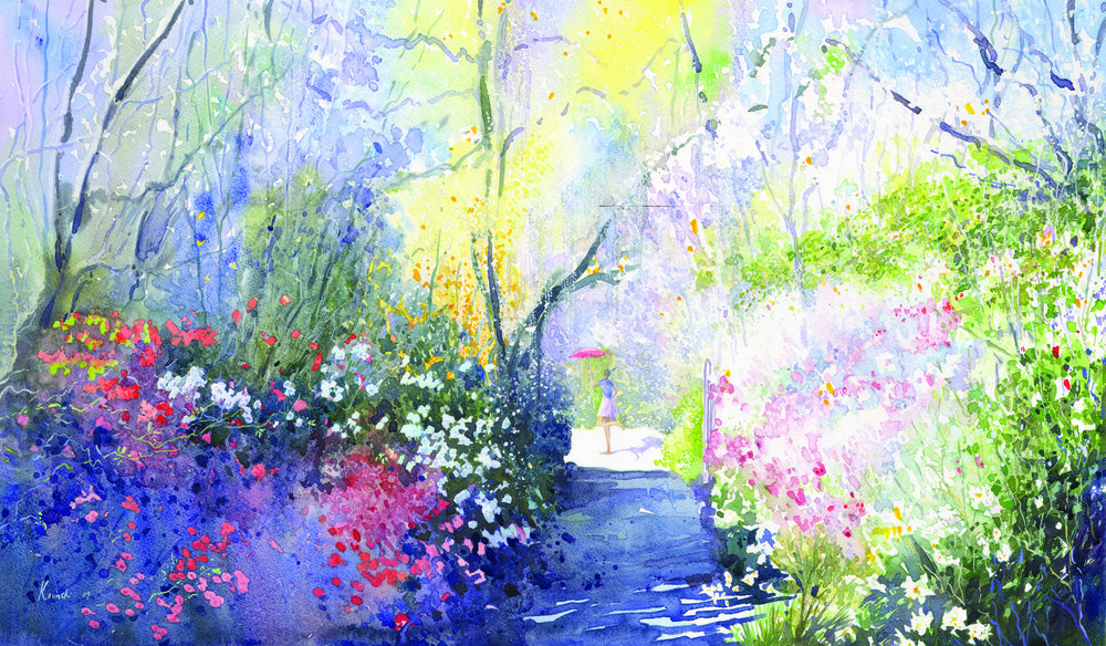 Springing, Brookgreen Gardens, SC