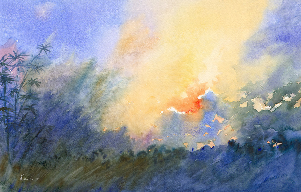 Sunset, Blue Ridge Mountains