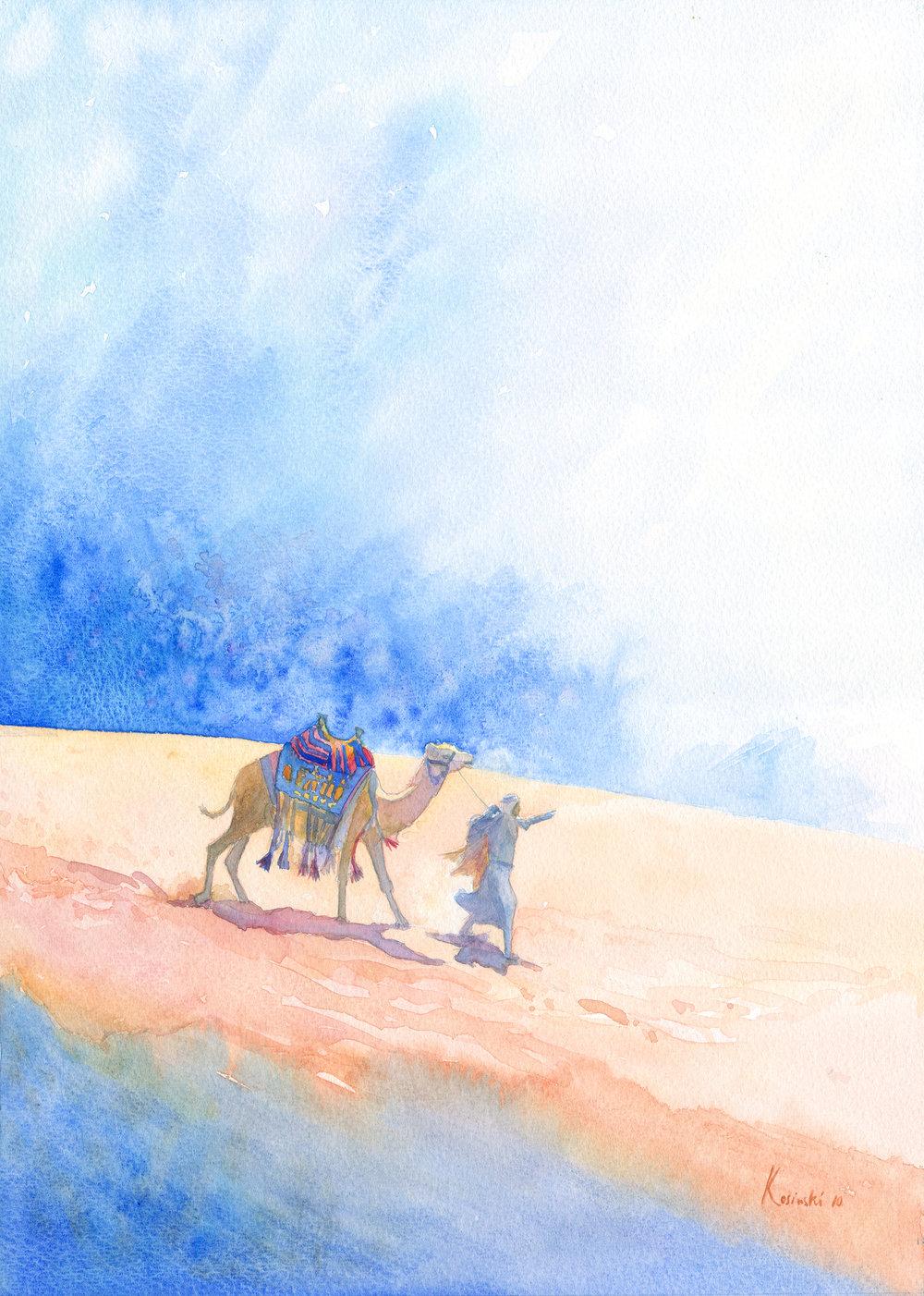 Camel Rider, Wadi Rum