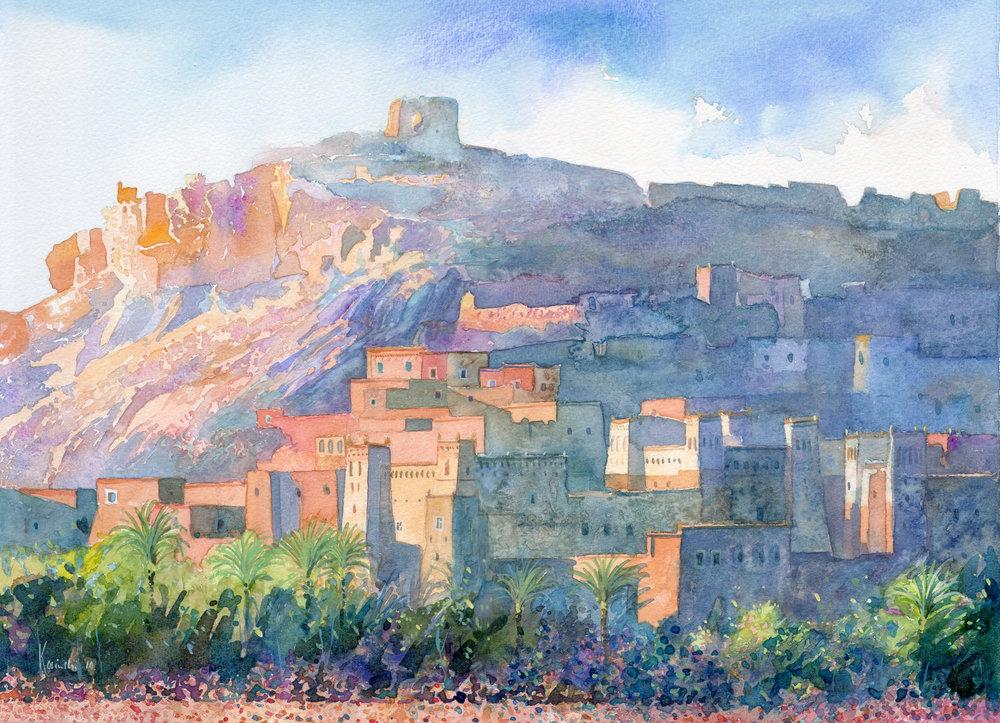 Casbah, Morocco