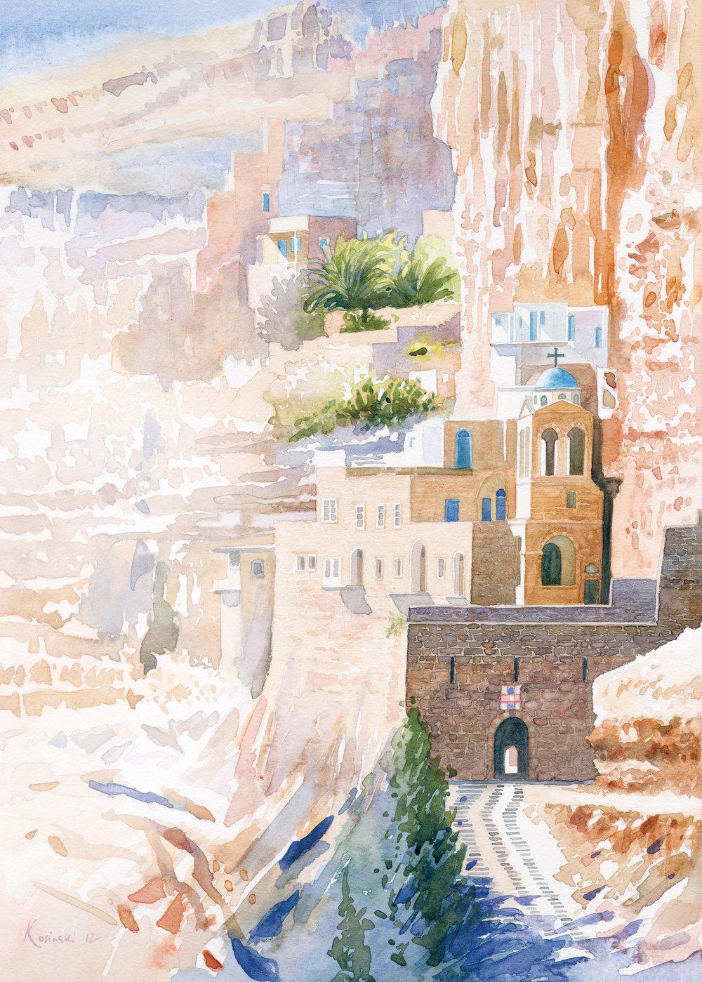 St. George's Monastery, Wadi Rum