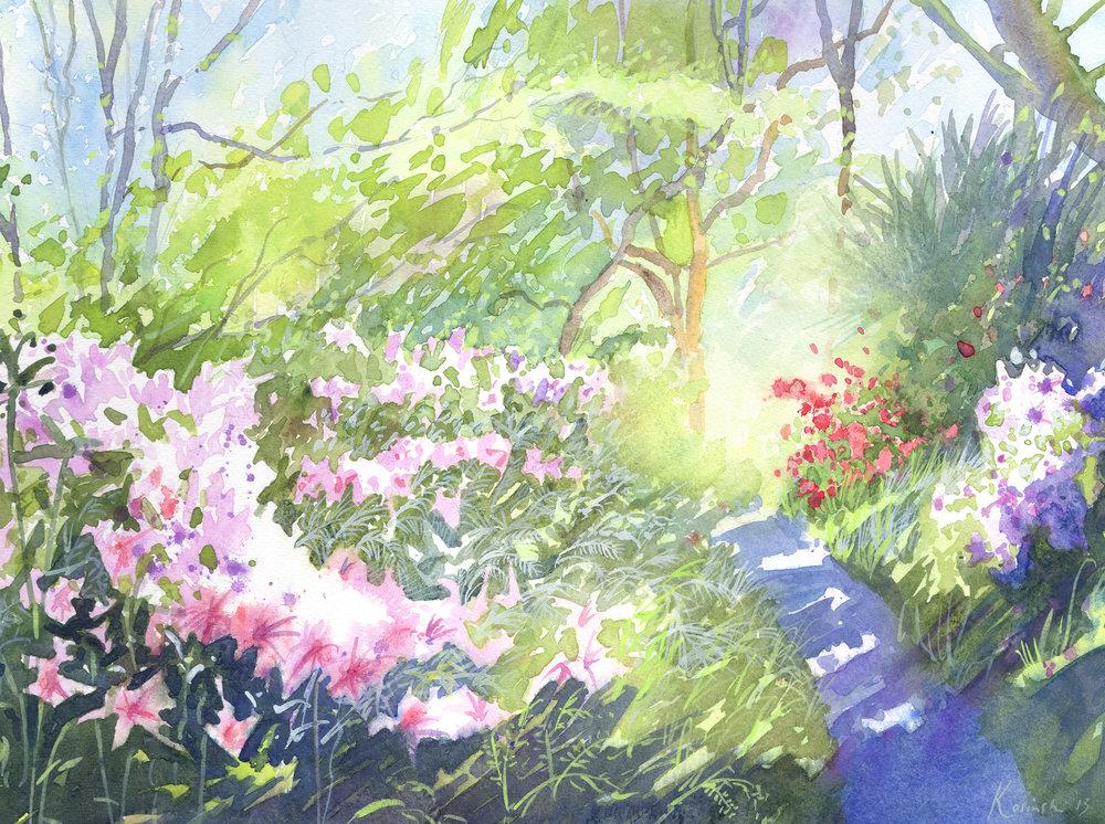 Azaleas, Brookgreen Gardens, SC