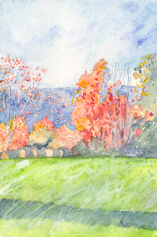 Fall, Ashe County