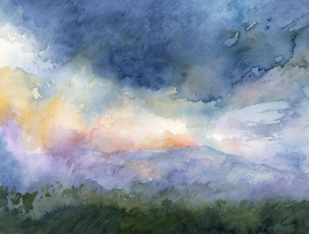 Florence Tailwinds over Grayson Highlands, VA