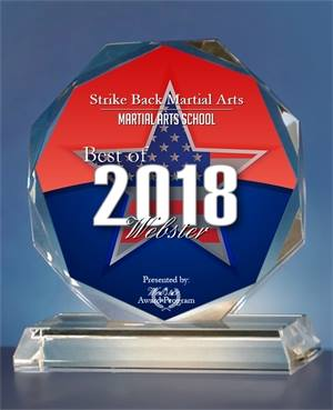 Awarded 2018 Best Of Webster Martial Arts School - Click here to read more!