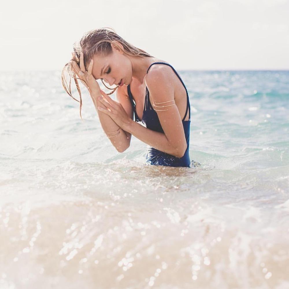 Lucky Honey // ACACIA Swimwear Look Book   PC: Maui Maka Photography  Model: Stephani Foster