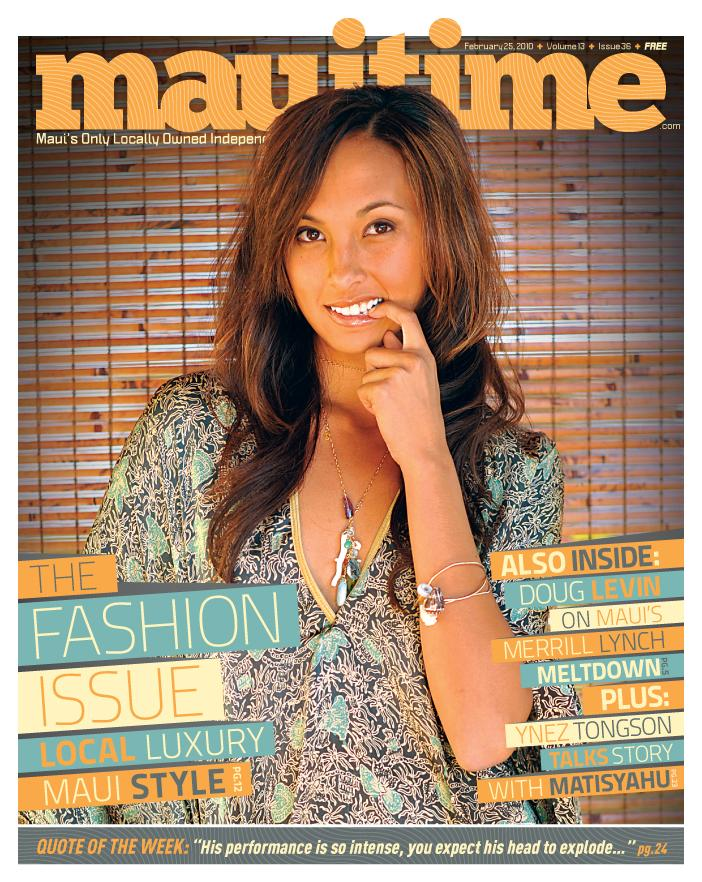 Maui Time Weekly Fashion Issue 2010