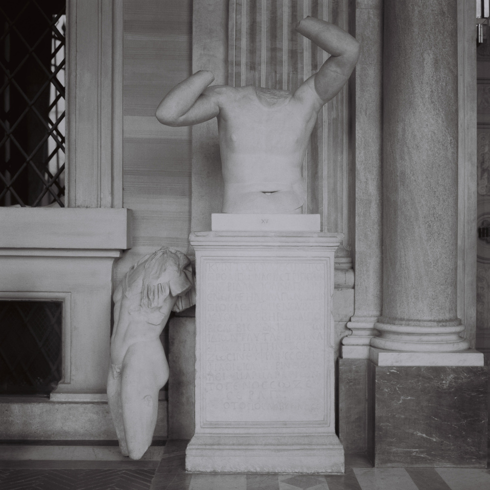 Portico, Galleria Borghese, Rome, 2015