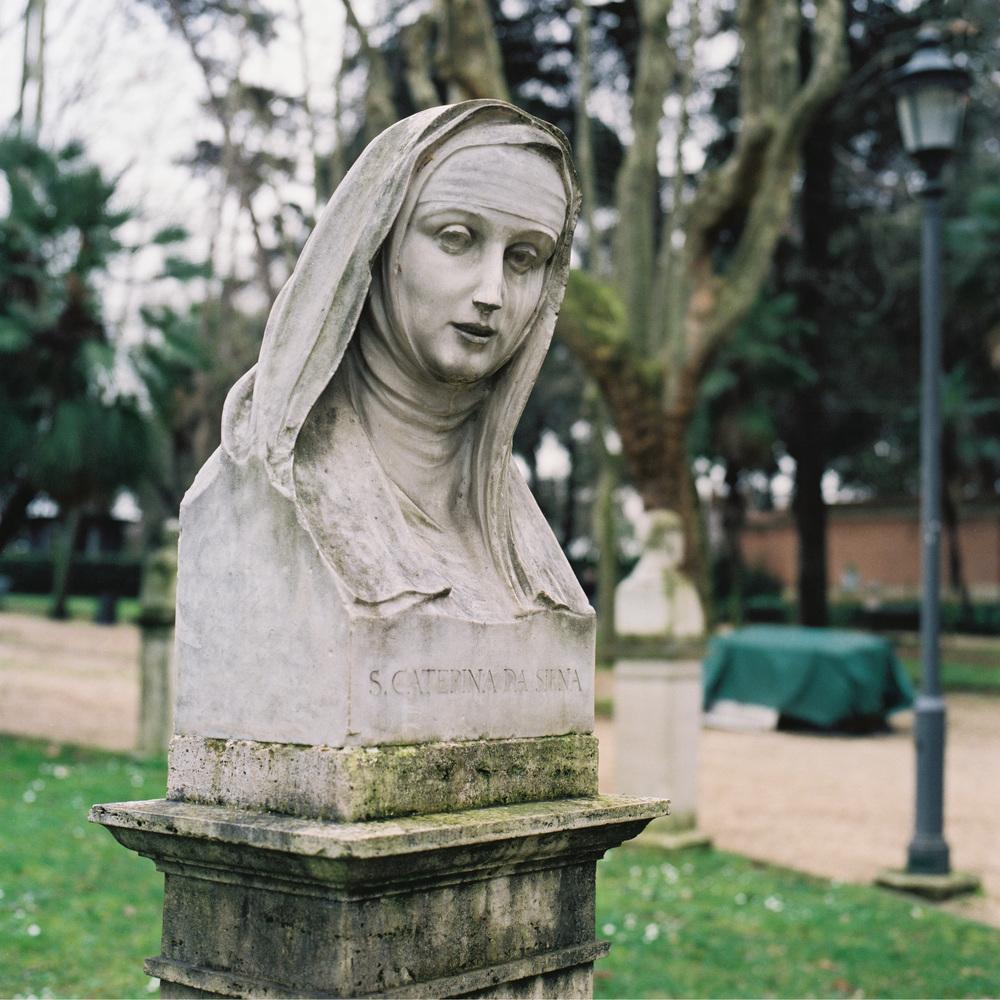 S. Caterina da Siena, Borghese Gardnens, Rome, 2015