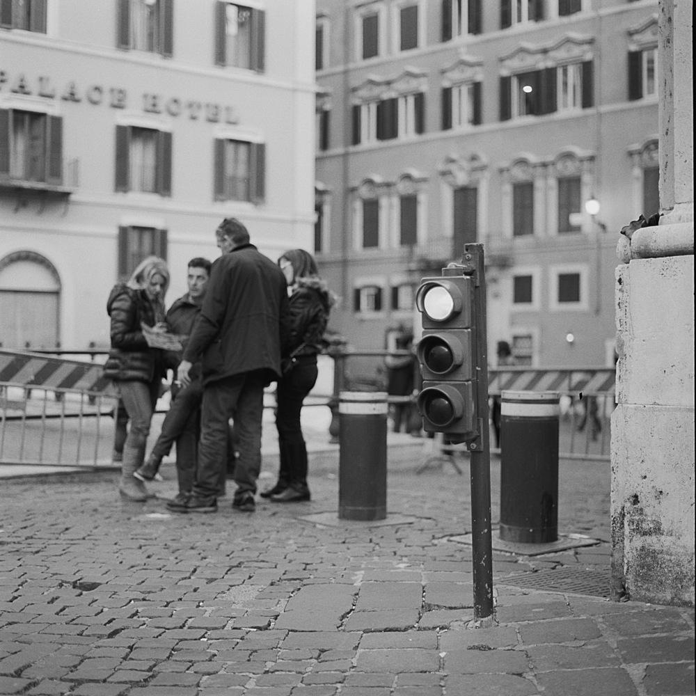 Piazza di Monte Citorio, Rome, 2015