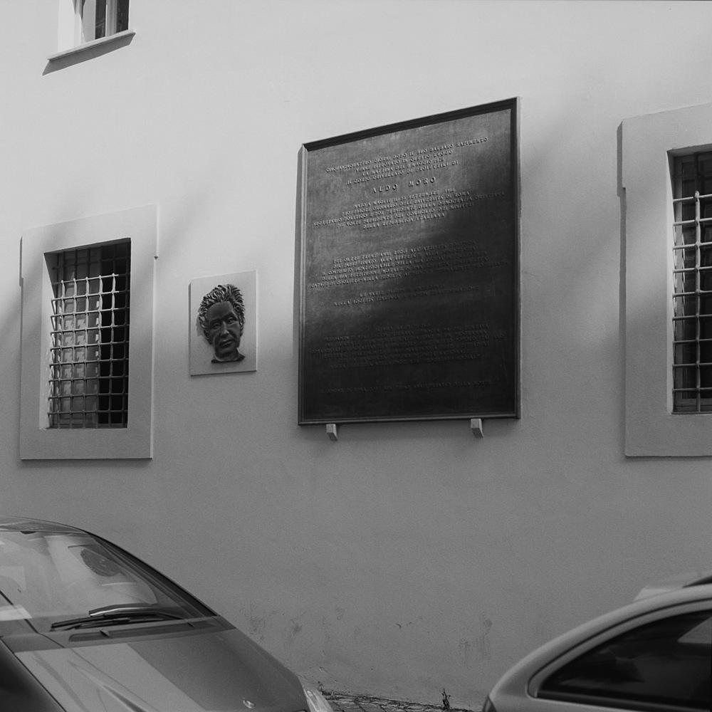 Aldo Moro Site, Crypto Balbi, Rome, 2015