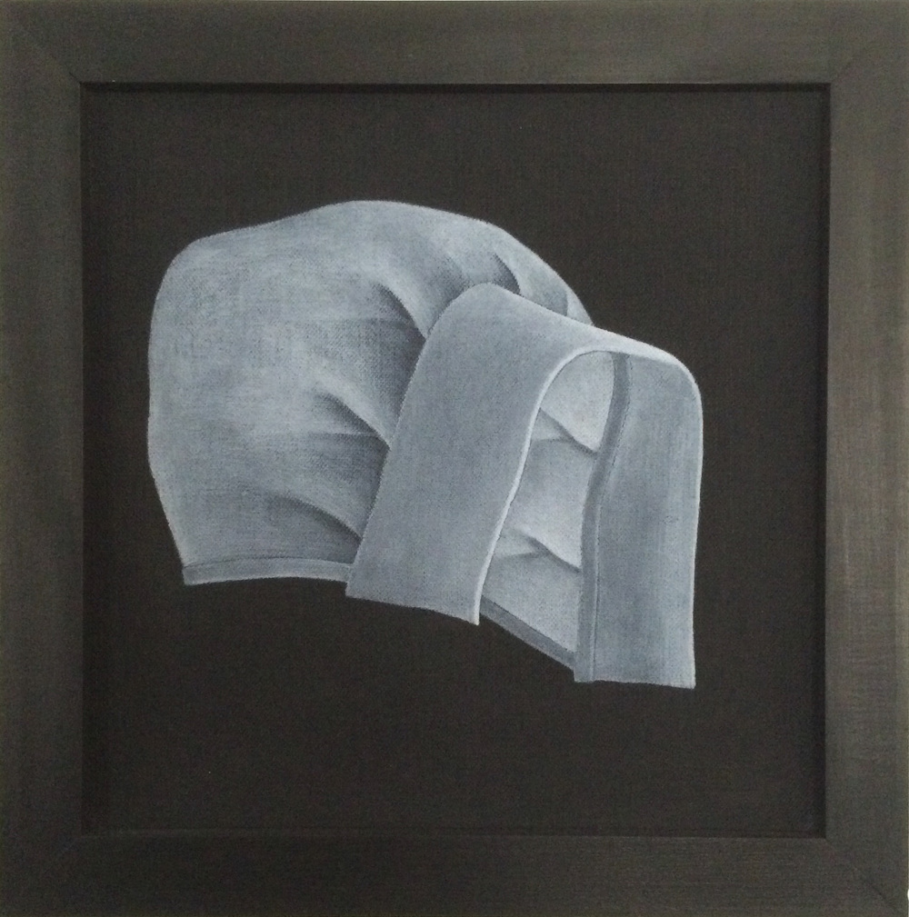 Bonnet,   1991 Pigment, acrylic polymer, and gesso on linen-mounted panel