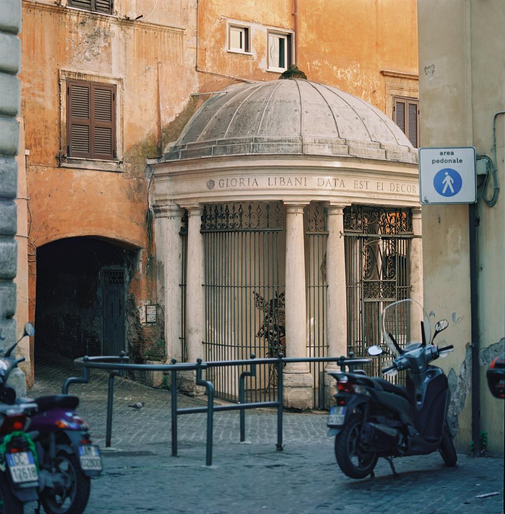 Tempietto del Carmelo, Via Publicolis,Rome, 2015