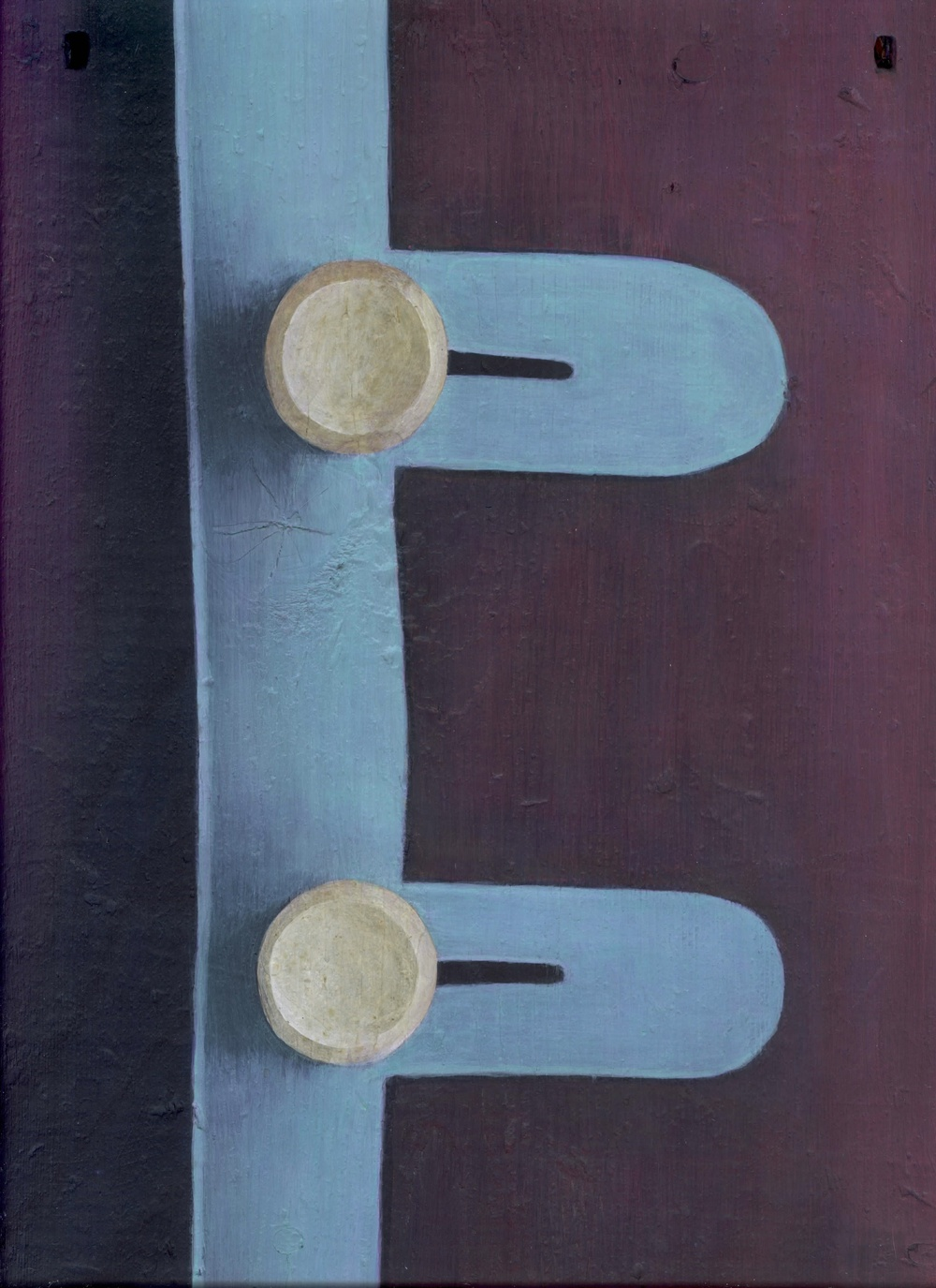 Nugent,   1992 Pigment, acrylic polymer, and gesso on board