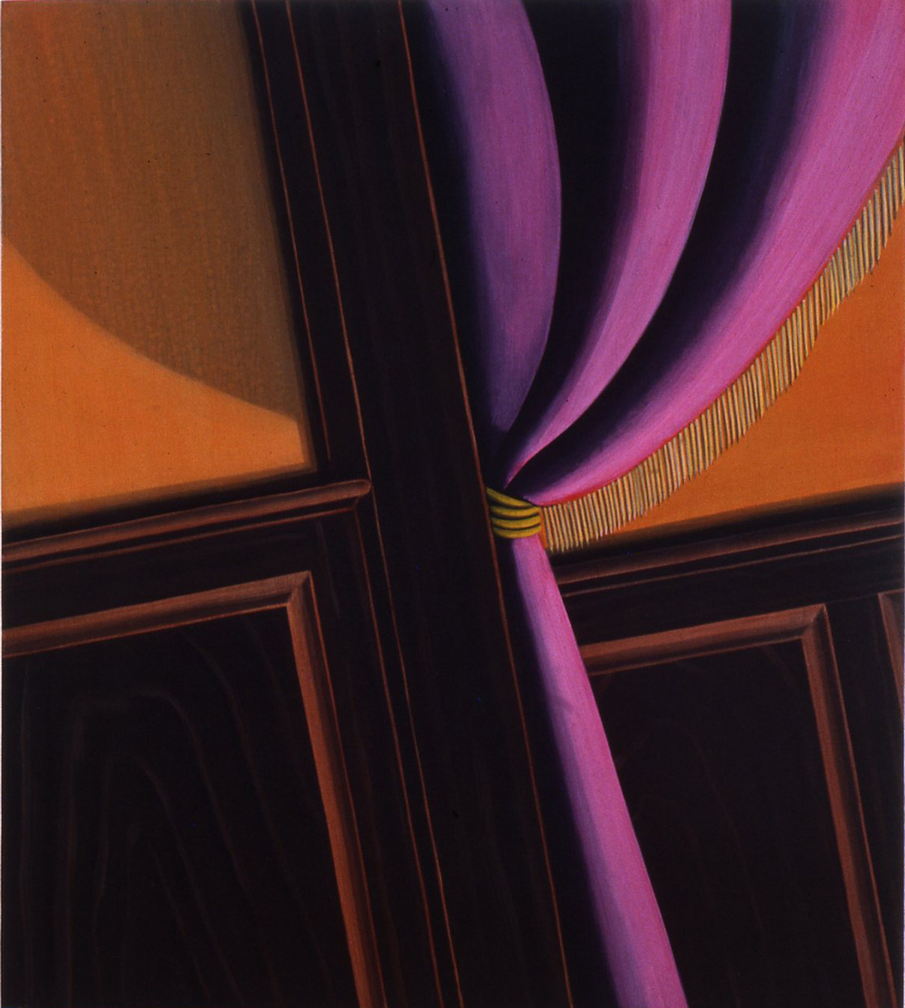 Parlor,  1992 Pigment, acrylic polymer, and gesso on board